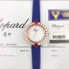 129萧邦.Happy Diamonds钻石系列 B13232548995011 皮带 石英女表